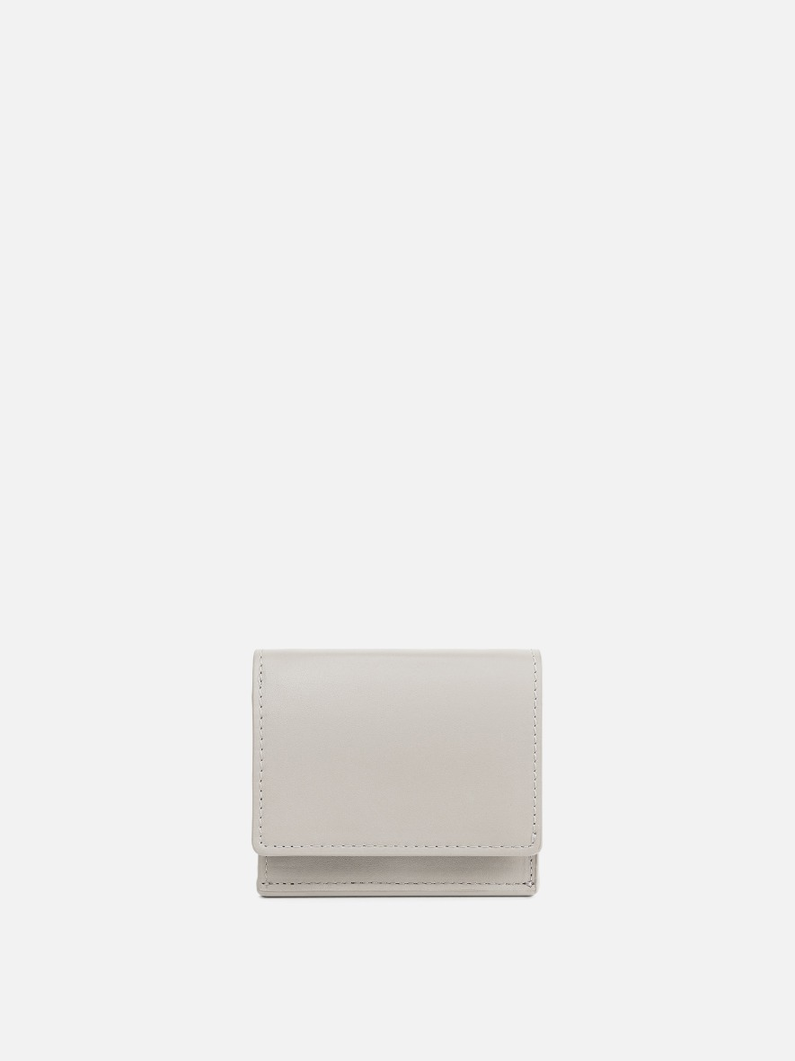 Pochette small wallet Ivory